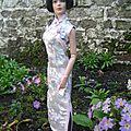 Un autre robe chinoise pour mon ami christophe