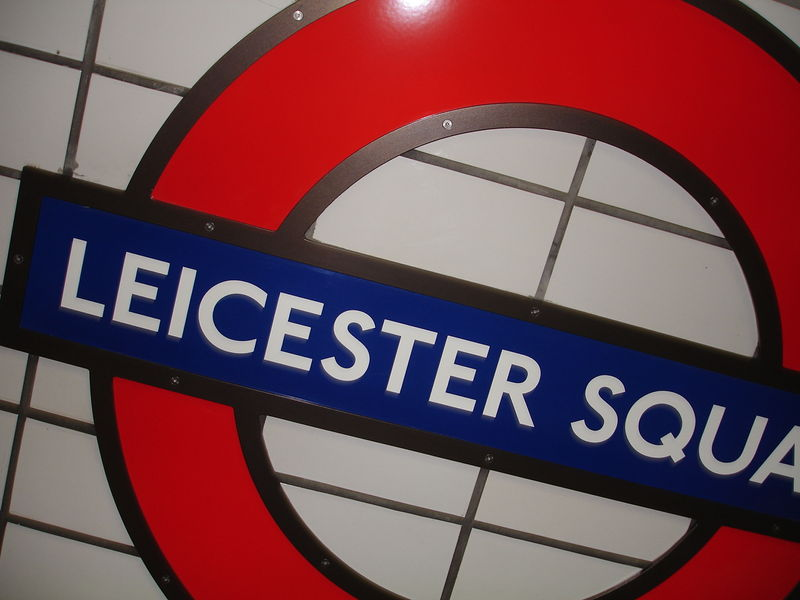 London Underground : Station Leicester Square
