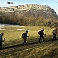 Mont rachais 1046m depuis la citadelle – saint-martin-le-vinoux 38950 chartreuse