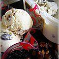 Glace rhum-raisins