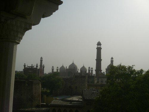 Lahore, mosquee royale
