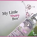 °*° my little box : en voilà une qui donne le smile ! (nouveau contenu) °*°