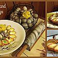 Un nid gourmand pour pâques