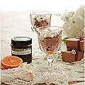 Mousse au chocolat à la pâte à tartiner et à l'orange inratable.....