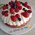 Revisite tarte aux fraises