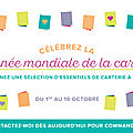 <b>Journée</b> <b>Mondiale</b> de la <b>Carterie</b> Promotion Stampin'Up!