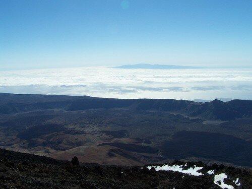 Le Teide-panorama sud'est-ile de Grand Canaria