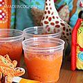 Purée de carottes -4/6 mois