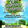 21èmes journées de printemps à montmagny