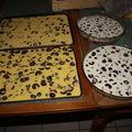 2009 06 07 Mes 4 recettes de clafoutis avant cuisson