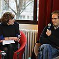 Café littéraire de la cité : rencontre avec fabrice humbert et frédéric ciriez