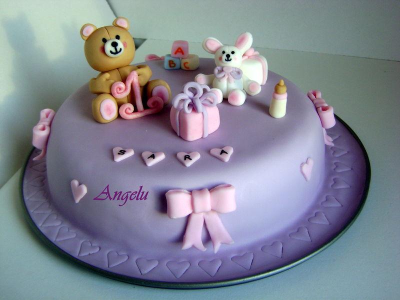 recette gateau anniversaire bébé 1 an fille