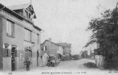 Le Mesnil-Mauger - la poste