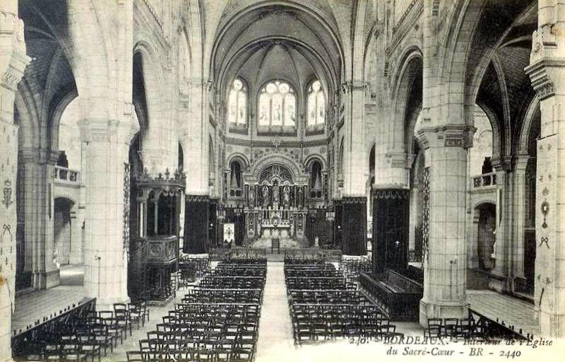 Eglise du Sacré Coeur, intérieur