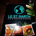 Restaurant le saint barth