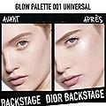 La nouvelle palette <b>Glow</b> Face Palette Dior Backstage : j'en suis folle !!