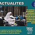 128 mineurs isolés dormiraient dehors à paris en pleine vague de froid, selon un collectif d'avocats
