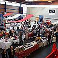 Un marché de Noël montagnard