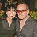 ATEK avec BONO en 2006 à Monaco