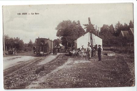 14 - USSY - La gare