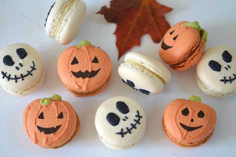 macarons-halloween