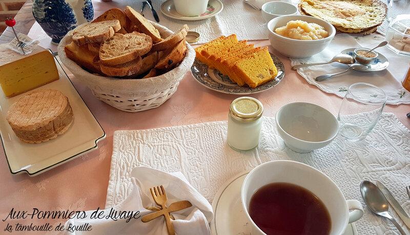 petit-dej-samedi-chambre-hôte-normandie