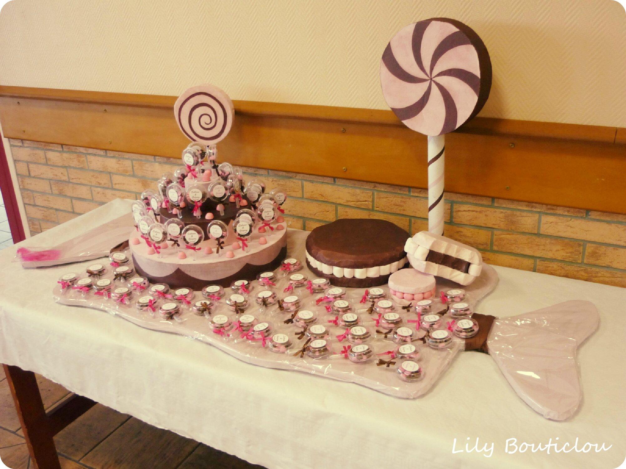 candy bar mariage wedding DIY lilybouticlou
