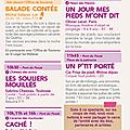 Programme du 17 août pour le festival de l'écho des mots