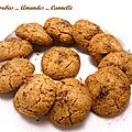 Ghoribas amandes cannelle