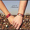 Bracelet Cuir - Bracelet Satin - Bracelet Vichy - Bracelet Ottoman - Le <b>Lacet</b> Parisien