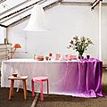 Diy déco ❘ tie&die douceur pour jolies tables bucoliques …