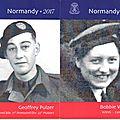 73ème anniversaire du débarquement de 1944: hommage aux victimes civiles normandes et aux derniers vétérans vivants
