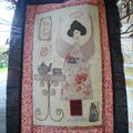 Angels story quilt #6...