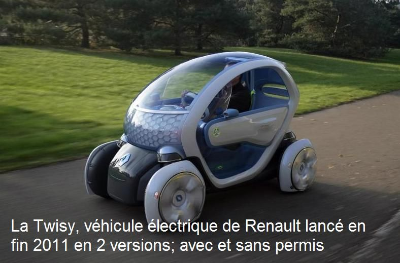 twizy renault se lance dans la voiture 100 lectrique sans permis my little blog fonderie. Black Bedroom Furniture Sets. Home Design Ideas
