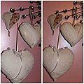 Coeurs en tissus (13)
