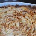 Tarte aux pommes et aux noix sans gluten ni produits laitiers