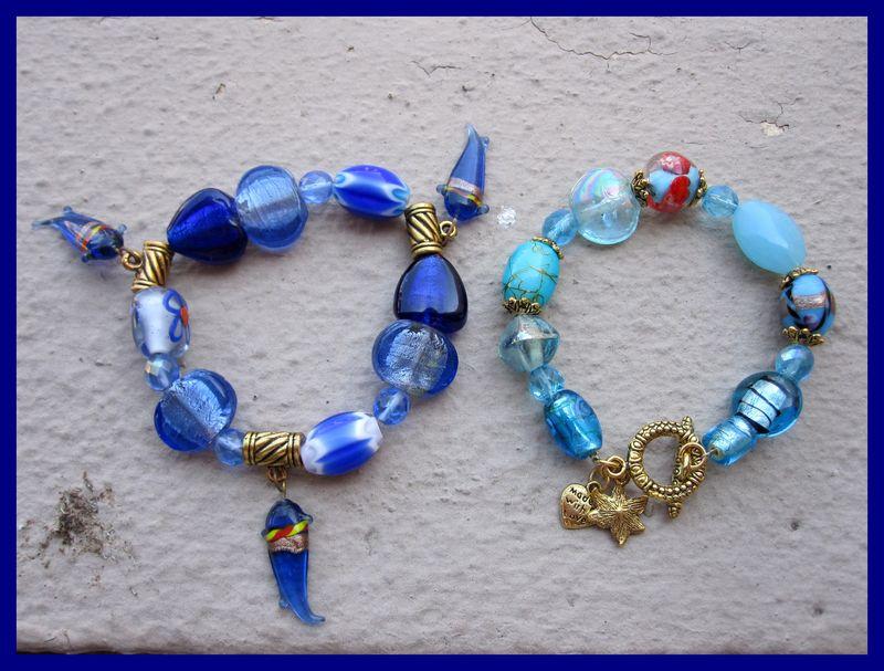 574 bracelets bleus
