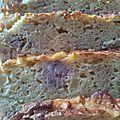 Cake au paté hénaff, cidre et pommes