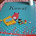 Un livre très kawaï avec de jolis modèles, champignon noz