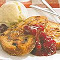 Stollen perdu a la confiture de fruits rouges