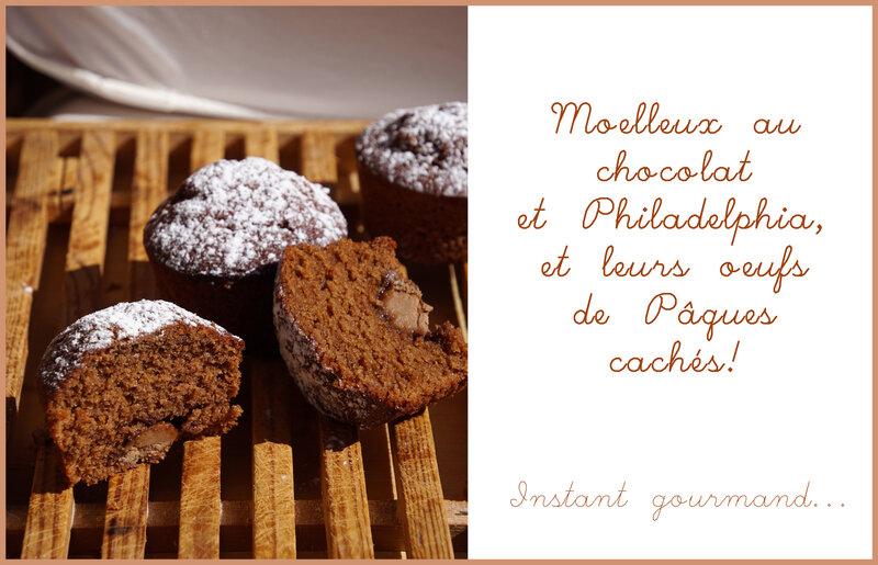 Moelleux chocolat Philadelphia 2
