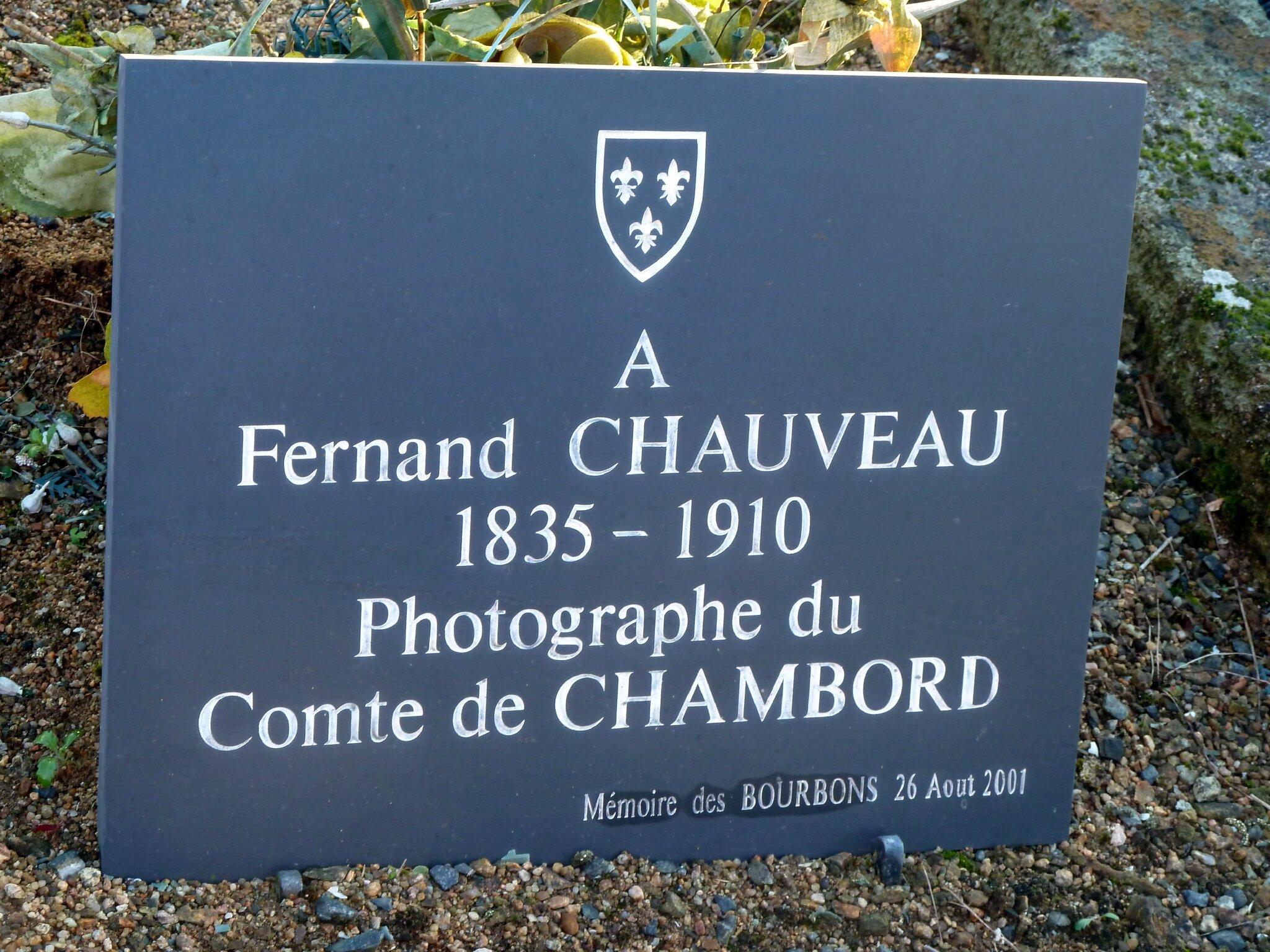 Sépulture de Fernand Chauveau