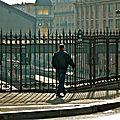 La Gare Saint-Lazare depuis la place de l'Europe.