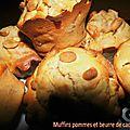 Muffins pommes beurre de cacahuète 2
