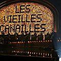 Le concert des Vielles Canailles à Bercy le 06 novembre 2014.