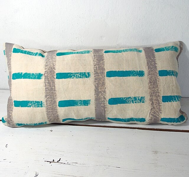 coussin-turquoise-gris
