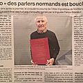 L'ATLAS LINGUISTIQUE DE LA LANGUE NORMANDE NE DOIT PAS ETRE SON... TOMBEAU!