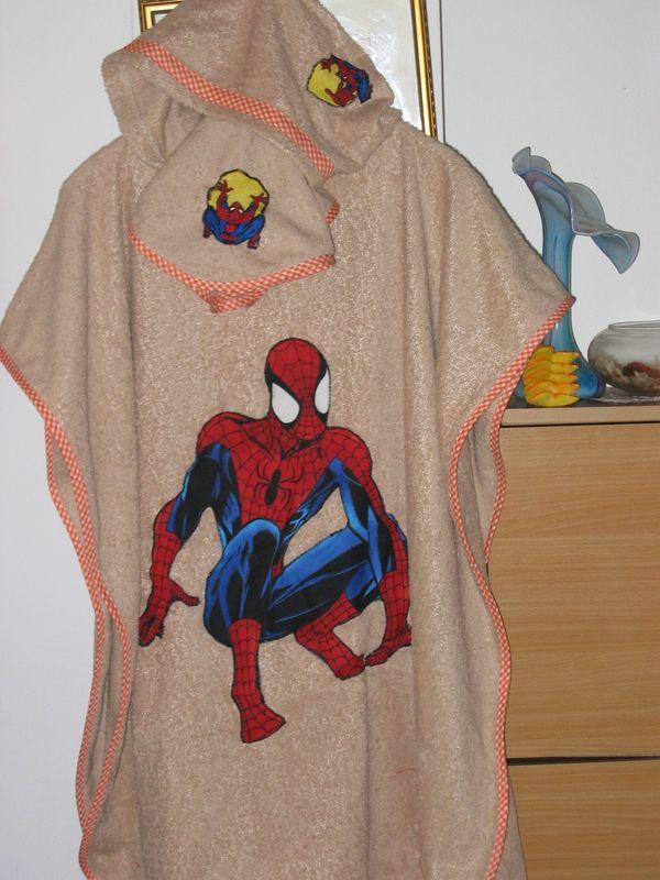 La sortie de bain de Samuel avec Spiderman
