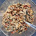 Granola Salé - Salted Granola (Veggie)