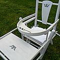 chaise haute ancienne pour poupée vendue, modèles en stock sur https://www.etsy.com/fr/shop/LeTorchonenCavale